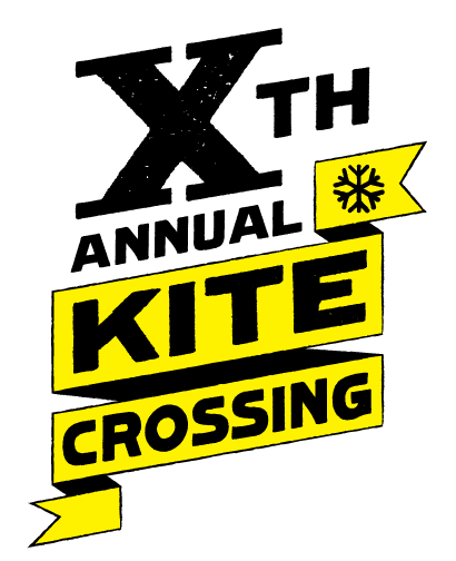 Tenth Annual Kite Crossing Logo