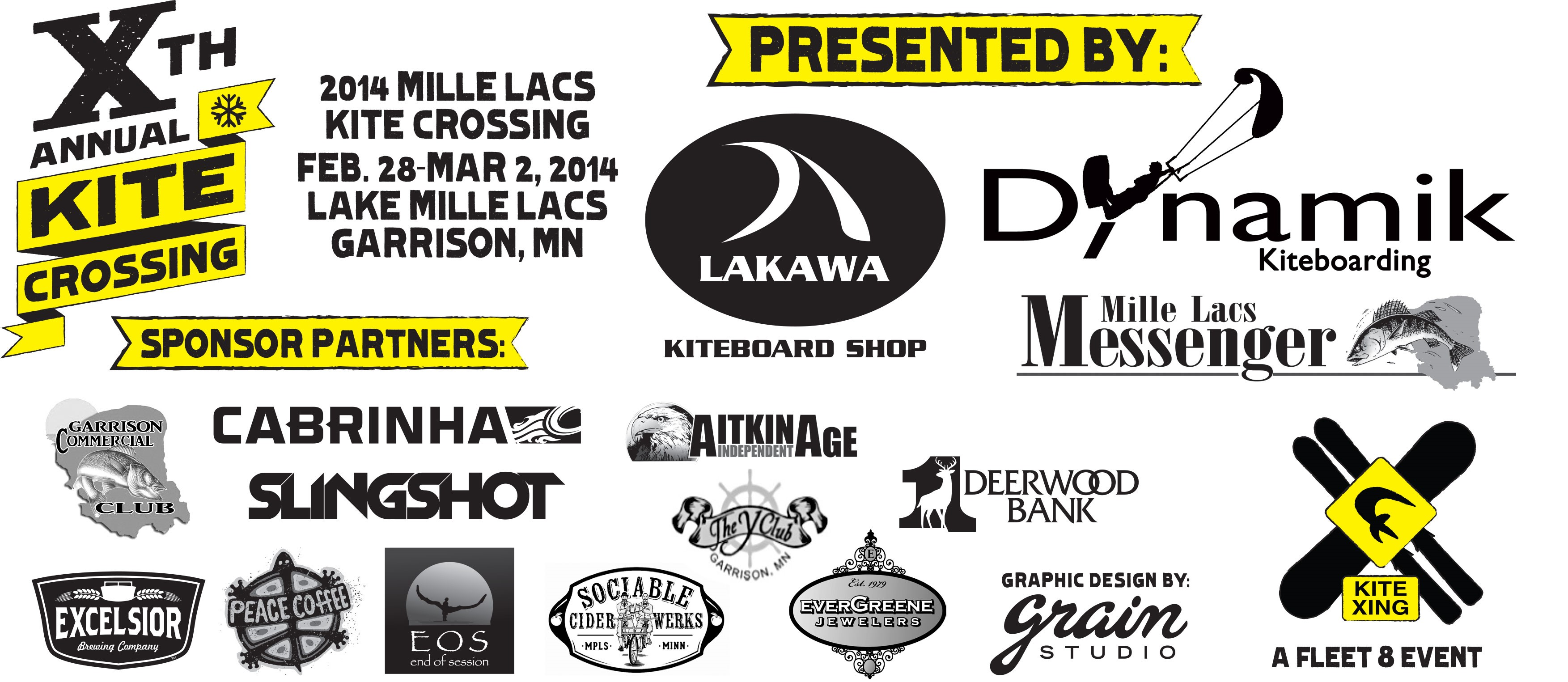 Tenth Annual Kite Crossing Sponsors